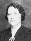 Virginia nursing leader Louise Oates, MA, RN, first chair of the Sadie Heath Cabaniss Memorial School of Nursing Education, 1928-1952.