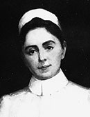 Virginia nursing leader Sadie Heath Cabaniss. Special Collections and Archives, Tompkins-McCaw Library, Virginia Commonwealth University.