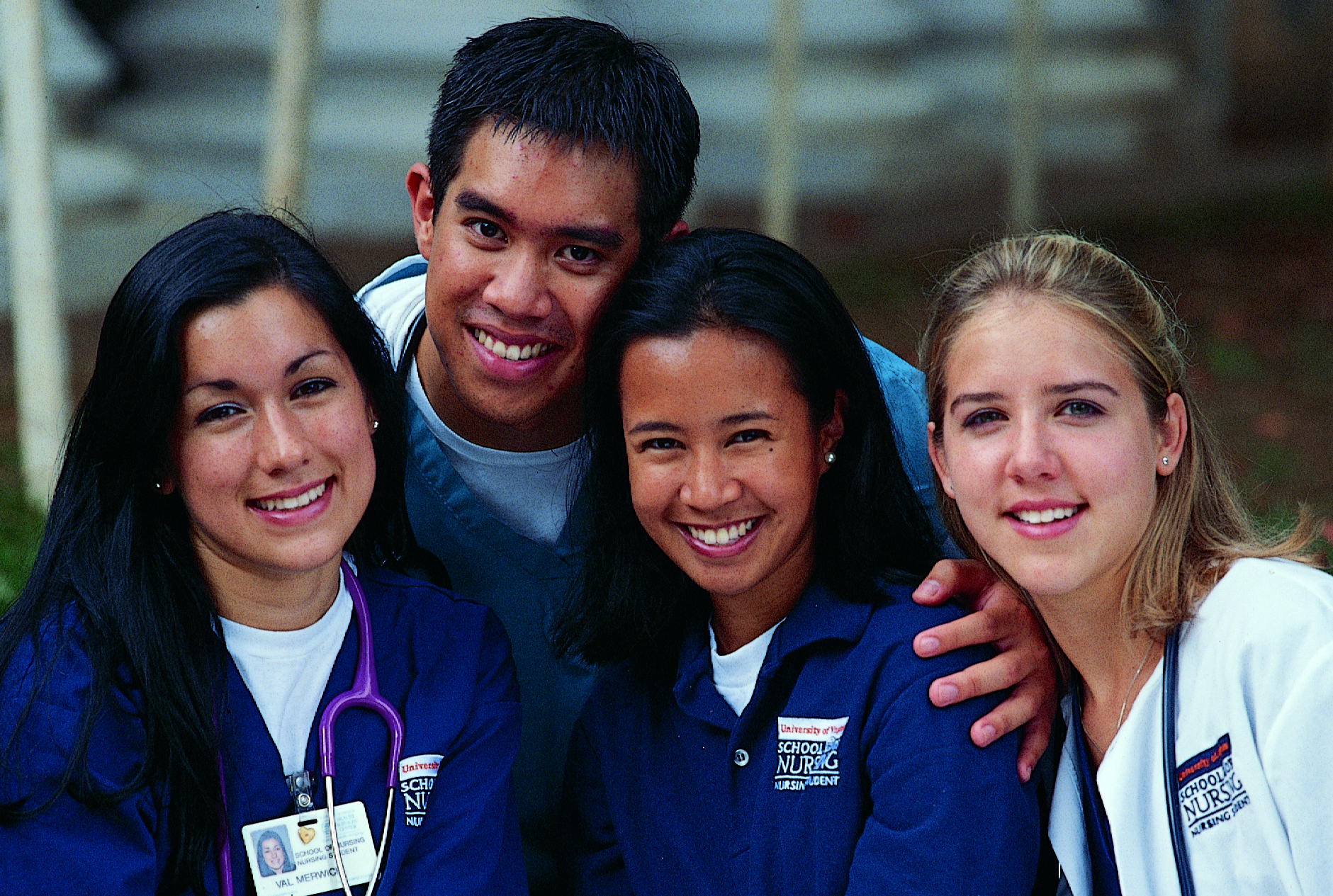 Mr Jefferson's Nurses cover - student nurses, circa 2000 Eleanor Crowder Bjoring Center for Nursing Historical Inquiry, University of Virginia School of Nursing.
