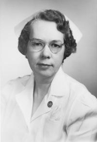 Roy Carpenter Beazley, MA, RN, director of Nursing Education and Department of Nursing Services, 1946-1952.	Eleanor Crowder Bjoring Center for Nursing Historical Inquiry, University of Virginia School of Nursing.