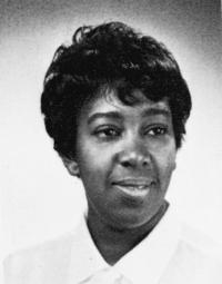 Mavis Claytor, the first African-American student to enter the nursing program, received her BSN in 1970.	Corks & Curls, the yearbook of the University of Virginia.