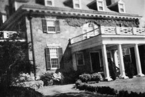 Kelly House, on University Avenue, housed nursing students from 1944 to 1946.