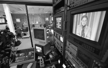 Technology makes nurse practitioner distance learning possible, 1997.	Eleanor Crowder Bjoring Center for Nursing Historical Inquiry, University of Virginia School of Nursing.