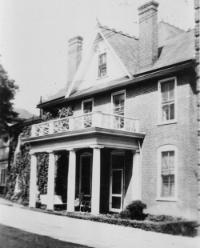 Page House on Elliewood Avenue was rented by the University as a residence for student nurses from 1944-1946.
