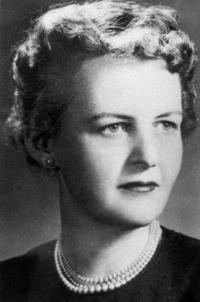 Margaret Tyson, first dean of the School of Nursing, 1956-1961 and 1962-1964.