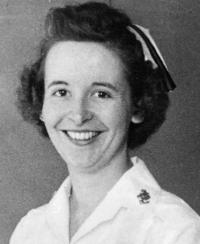 Zula Mae Baber, RN, dean of the U.Va. School of Nursing, 1961-1962 and 1964-1966.